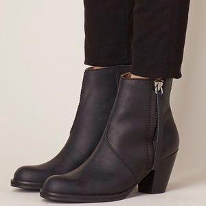 Acne Pistol Ankle Boot Black